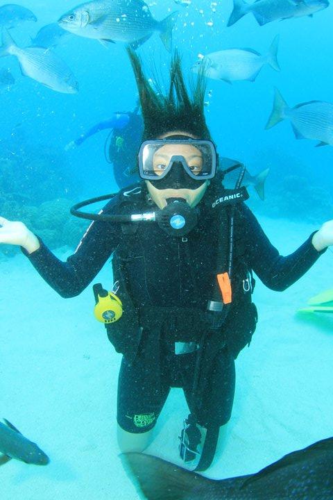 Australia Cairns Diving Nude Scuba