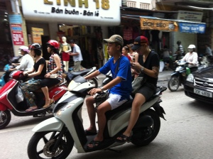 Hanoi's motorbikes