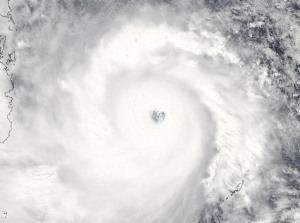 eye of the storm- Haiyan/Yolanda