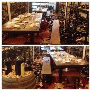 one of my city's wine stores after the earthquake