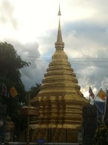 pagoda in Chiang Mai, Thailand