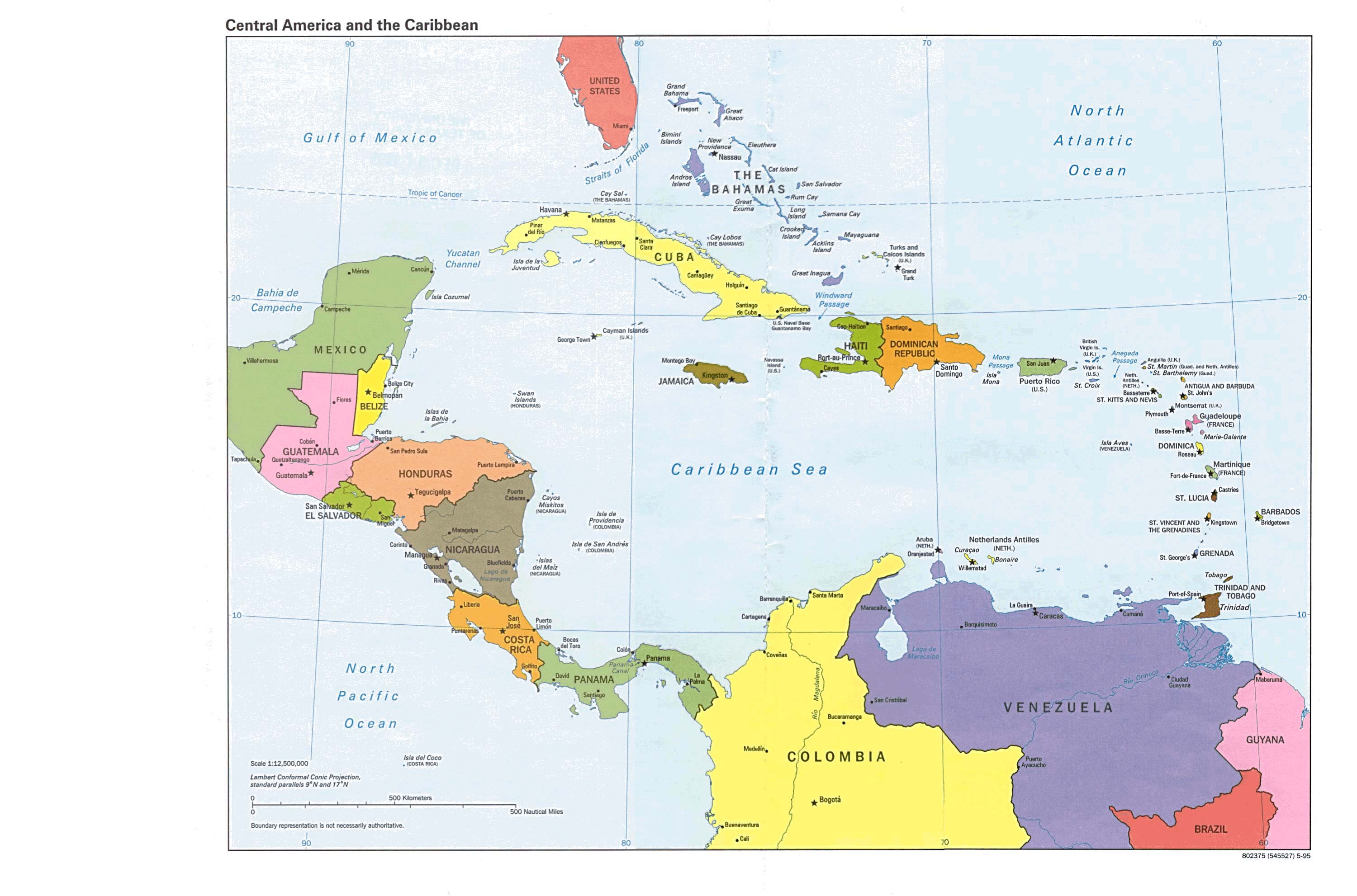 List Of Central American Countries