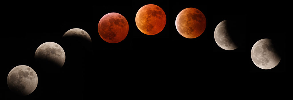 Blood Moon Eclipse 2015 Phases of lunar eclipse