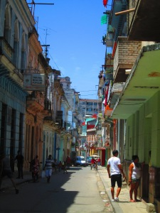 neighborhood in Old Havana