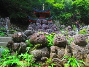 the Otagi Nenbutsuji site