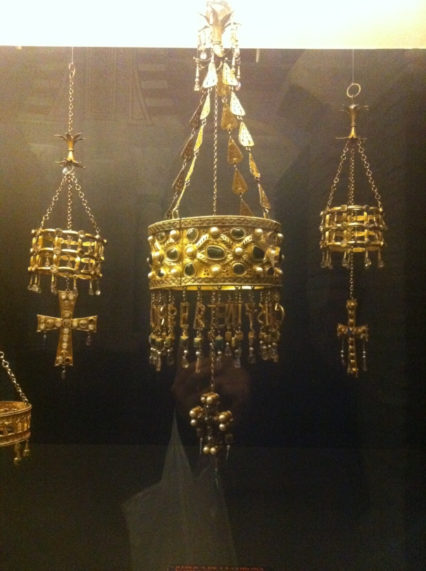 Visigoth crowns