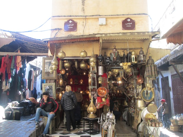 copper central in Fez