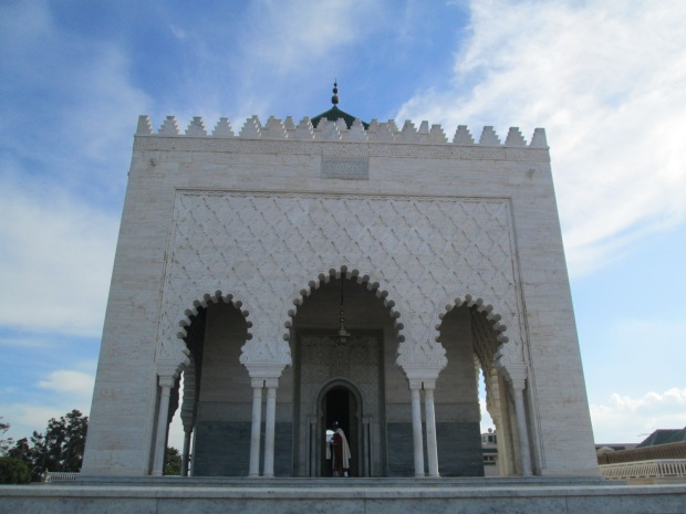 front view of the mausoleum