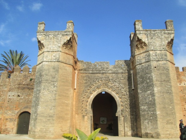 entrance of Chellah
