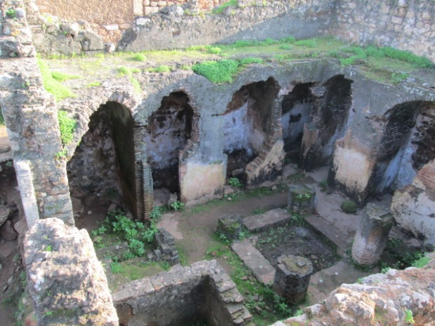 small Roman baths
