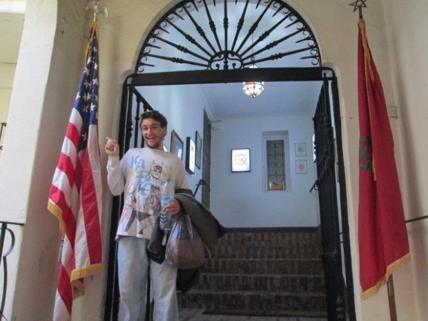 I'm in America! .... in Morocco