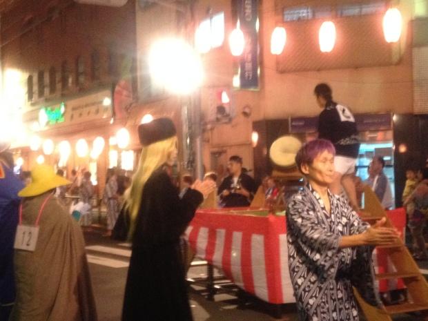 A surprise Japanese festival
