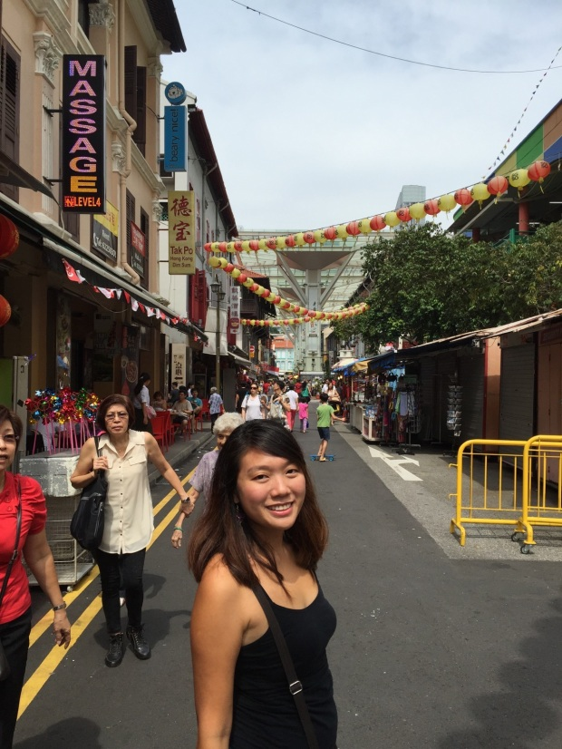 Then after it was time to stroll around the narrow historic streets of Singapore