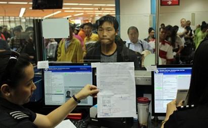 Philippine immigration photo