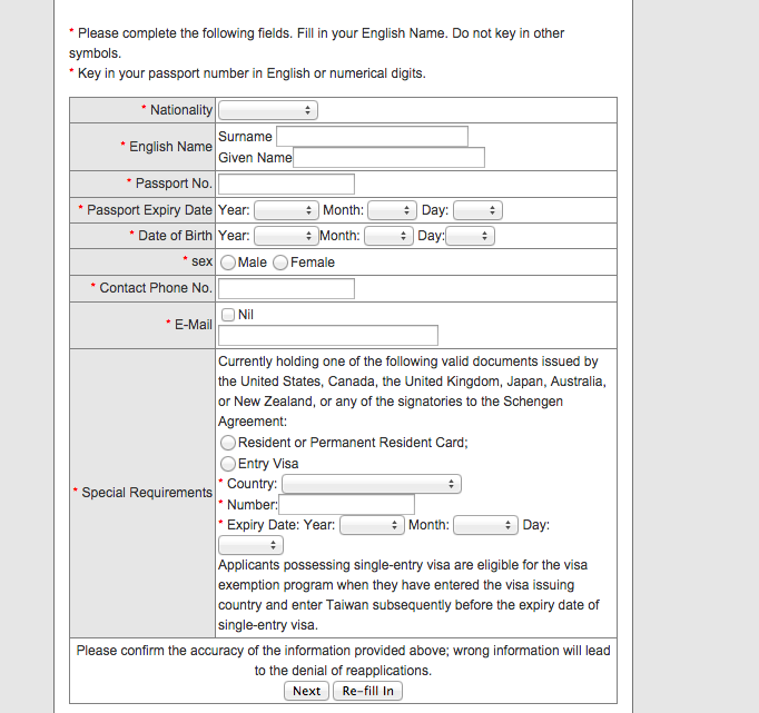How to Apply for a Taiwan Visa Online – Live Out of the Box